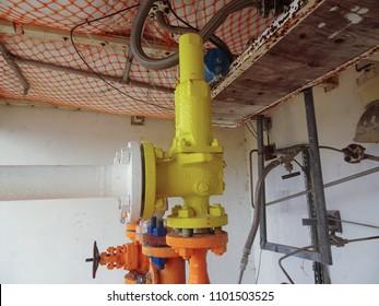Pressure relief device or pressure safety valve