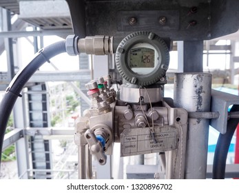Pressure transmitter for apply  in industry zone at Combined-Cycle Co-Generation Power Plant.