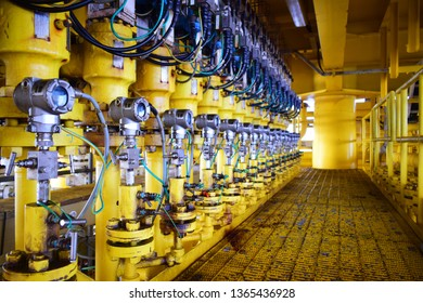 Pressure transmitter to monitor downstream pressure.
