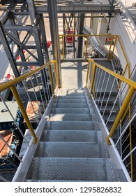 Pressure Vessel Fabrication building stair