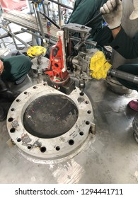 Pressure Vessel Fabrication Drill Tap Flange