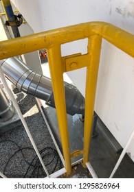 Pressure Vessel Fabrication handrail joint