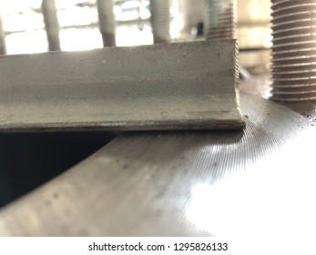Pressure Vessel Fabrication serrated face flatness
