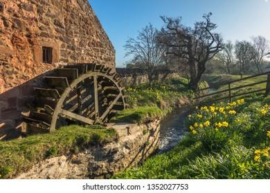 Preston Mill on the banks of the river Tyne near East Linton, East Lothian, Scotland.