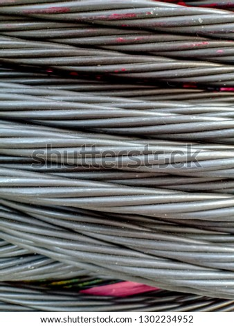 Prestress Cable Texture Post Tension Wire Stock Photo (Edit Now