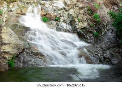 Pretolosu waterfalls at umphang, Tak, Thailand.