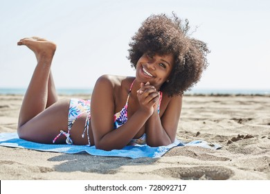 beach afro images stock photos vectors shutterstock