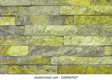 pretty aged natural quartzite stone bricks texture for design purposes.