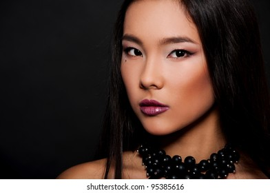 pretty asian woman