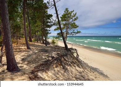Pretty beach on Lake Superior Pictured Rocks National Lakeshore