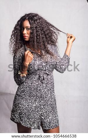 Pretty black ebony