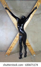 pretty black tied zentai slavegirl bdsm sex games
