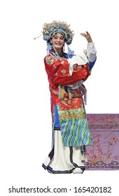 pretty chinese opera sctress