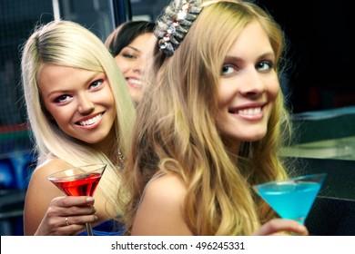 Pretty club girls