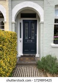 Pretty Door and walkway spring