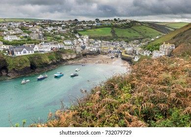 The pretty fishing village of Port Isaac has become a major tourist attraction after being featured in the ITV series 'Doc Martin' where it is known as Port Wenn
