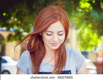 Beautiful Shy Woman Images Stock Photos Vectors Shutterstock