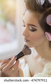 Pretty Girl Makeup.soft focus