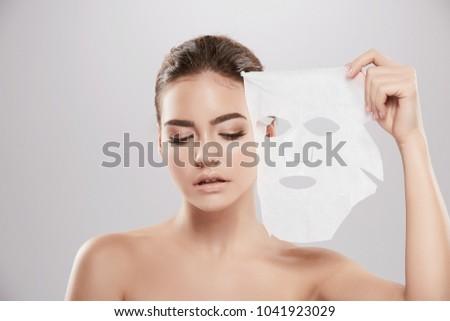 Naked girl face mask, horny neighbor fucking