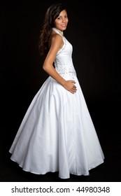 Pretty Girl Wearing Dress