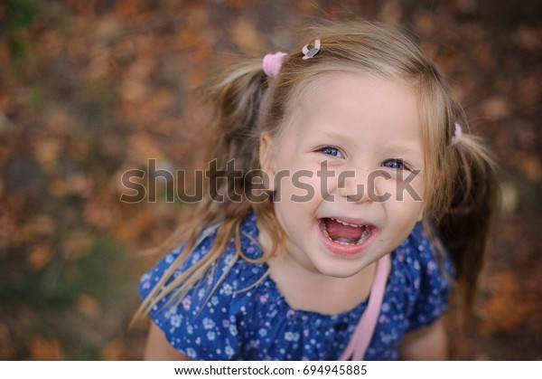 Astounding Pretty Little Girl Pony Tails Smiling Stock Photo Edit Now 694945885 Schematic Wiring Diagrams Amerangerunnerswayorg