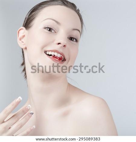 Sexy gummy girls domination