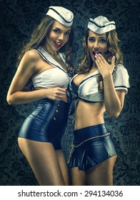 Pretty sexy vintage sailors - women
