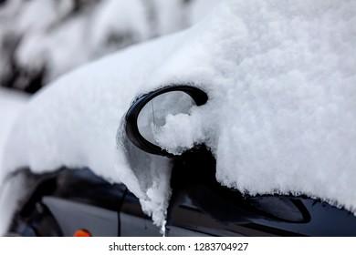 Pretty snowed that car