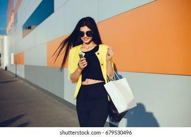447c1bbf6b4 Young Girl Long Hair Sunglasses Black Stock Photo (Edit Now ...