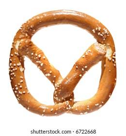 pretzel isolated
