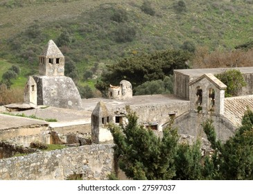 Preveli Monastery Ruins