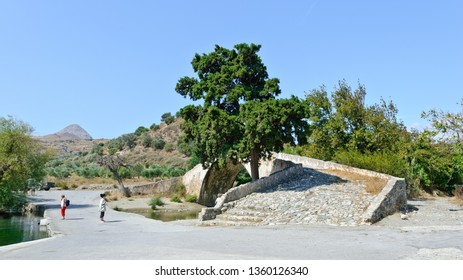 Prevelis, Greece - September 29, 2011: Bridge