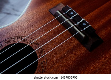 Preview Crop Find Similar Close up of ukulele on old background
