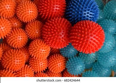 prickly balls, spikey balls, spiky balls, massage balls