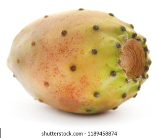 Prickly pear fresh and juicy over white background