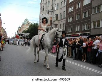 Pride festival in Stockholm