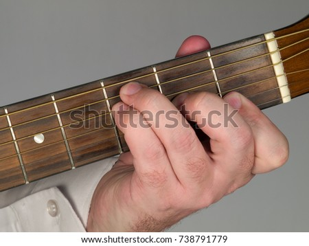 Primary Guitar Chord F Major Stock Photo (Edit Now) 738791779 ...
