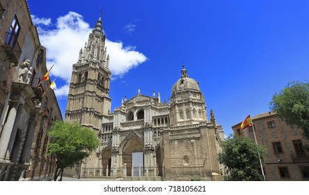 The Primate Cathedral of Saint Mary of Toledo (Catedral Primada Santa Maria de Toledo), a Roman Catholic cathedral in Toledo, Spain