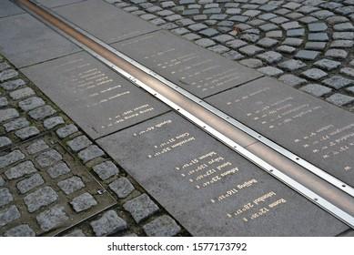 Prime Meridian Line in Greenwich, London, England, United Kingdom, Europe