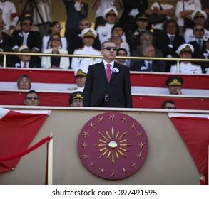 Prime Minister Recep Tayyip Erdogan. istanbul, Turkey, 12 May 2015