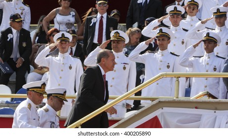 Prime Minister Recep Tayyip Erdogan. istanbul, Turkey, 28 November 2015