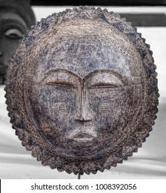 primitive African masks indigenous art