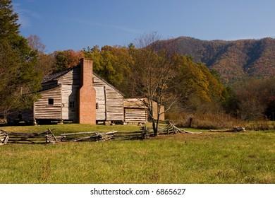 Primitive Cabin in The Smokies