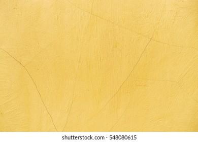 primrose yellow, concrete wall