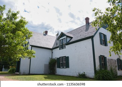 Prince Edward Island, Canada: July, 15th, 2018: A green house of Anne Shirley in Green gables heritage, Cavendish.