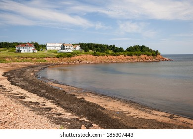 Prince Edward Island coast near village of North Rustico in Green Gables Shore,  PEI, Canada.