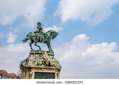 Prince Eugene of Savoy statue in Budapest, Hungary