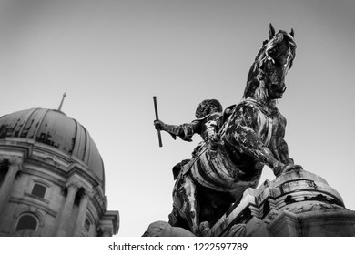 Prince Eugene of Savoy's Equestrian Statue