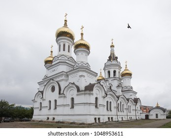 Prince Vladimir's Church (built in 1888) in Irkutsk, Russia