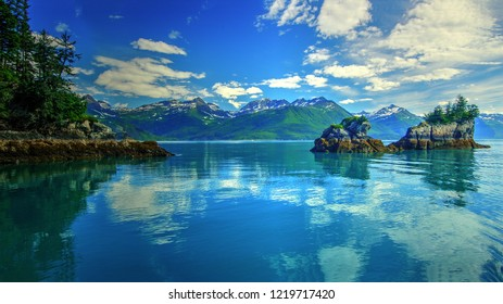 Prince William Sound, Valdez, Alaska, America
